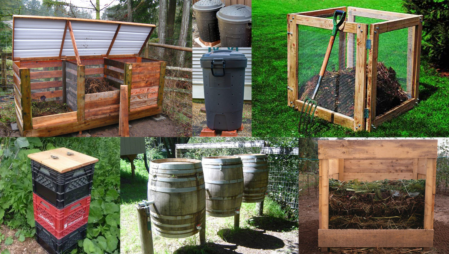 How to Build a Humanure Compost Bin pics